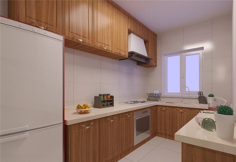 桃hua芯家具板厨房装修案例